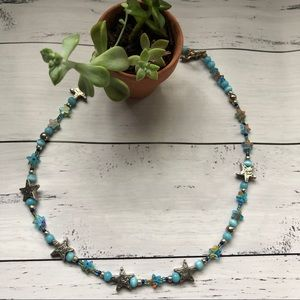 Adorable Handmade star Beaded Necklace